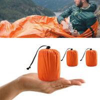 Survival Schlafsack Notfall Decke Camping Outdoor Thermal Schwerlast