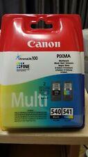 Canon PG-540/CL-541 Ink Cartridge Multipack - Black, Cyan, Magenta, Yellow...