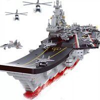 1059pcs Army Military Aircraft  Warship Legoed Building Blocks Toys Model Set