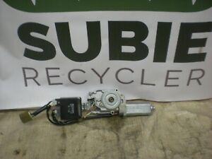 2000-04 SUBARU LEGACY OUTBACK WAGON SUNROOF MOTOR ASSEMBLY P/N 65450AE00A