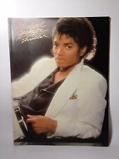 Michael Jackson Thriller Piano Guitar book 1983 VF1031 USA Warner Bros 1980s