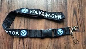 Schlüsselband Karabiener VW Volkswagen 2,5 cm breit Neckstring Lanyard