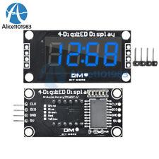 "TM1637 0.36"" inch 7-Segment 4-digit LED Display Clock Blue LED Tube Module Board"