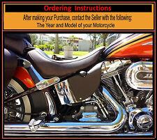 Harley CVO Saddle Shield Softail Brown Mid Frame HEAT Deflectors Made in USA