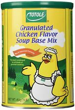 Granulated Chicken Flavor Soup Base Mix | Chicken Powder | TOTOLE | 1lb 454g