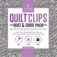 ZAVARGE QUILT CLIPS – QUILT & COVER PACK