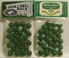 2 Bags Of Rolling Rock Premium Beer Promo Marbles