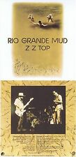 "ZZ TOP ""Rio Grande MUD"" di 1972! ORIGINALE-audio-tape-versione su unghie nuovi CD!"