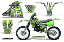 83-85 Kawasaki KX125 Graphic Kit AMR Racing Bike Decal Sticker Kawi Parts DEADEN