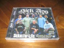Chicano Rap CD Sick Ass Criminals - Sickos for Life - GFunk Husky Primo JOKER
