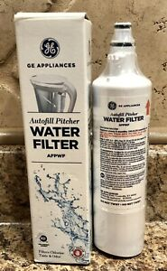 GE General Electric Autofill Pitcher Water Filter AFPWF***New Factory Sealed***