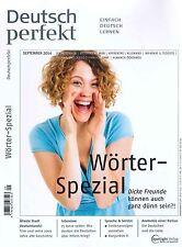 Deutsch perfekt - Deutsch Lernen, Heft September 09/2014 +++ wie neu +++