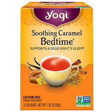 Soothing Caramel Bedtime, Caffeine Free, 16 Tea Bags, 1.07 oz (30 g)