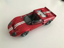 EXOTO 1:18 1966 Exoto Ford GT40 Mk II Cod RLG19049 Roadster Prototype Red