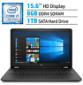 HP 15.6 inch  WLED-backlit Laptop PC, Intel  i7-7500 1TB, 8GB touchscreen