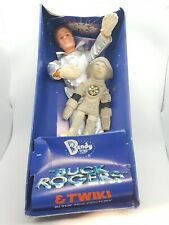Vintage Buck Rogers Twiki 25th century Bendy Toy Figures Boxed Unused 1981 rare