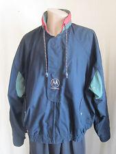 WINNER MATE Men's Motorola Logo Full Zip Windbreaker Jacket XXXL 3XLarge