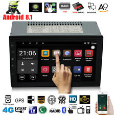 Android 8.1 WiFi Double 2 Din 7'' Car Radio Stereo GPS Navi Multimedia Player BT