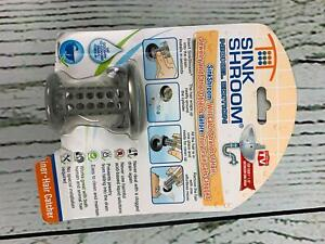 SinkShroom Revolutionary Bathroom Sink Drain Protector Hair Catcher Strainer