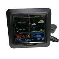 La Crosse Technology S84107 Color Forecast Station  Only With Power Cord - Black