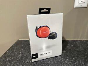 Brand NEW Sealed Bose SoundSport Free Wireless Sport Headphones - Orange Navy