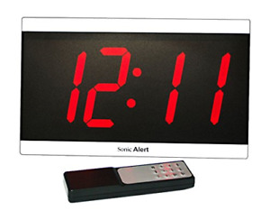 Geemarc BD4000SS- Extra Large Display Clock with Remote Control - UK Version