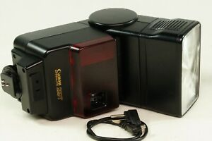 Canon Speedlite 299T Dedicated  Head Flash. V.G.W.O. Tested In Pouch.