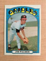 1972 Jim Palmer Topps Baseball Card #270 (Original)