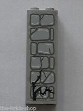 LEGO STUDIO OldGray brick 2454 + Stickers / set 1382 Scary Laboratory