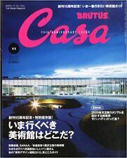 Casa BRUTUS November 2013 Life Design Magazine THE BEST MUSEUMS Japan Book