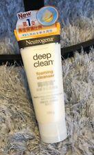 100g NEUTROGENA Deep Clean FOAMING CLEANSER Face Wash Anti Blackhead Acne