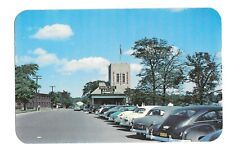 Vintage Postcard Entrance To Great Gorge Scenic Trip Whirlpool Rapids '40s Cars