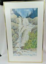 Marylin Kinsella Alberta Canada Studio Watercolor w/correspondence receipt