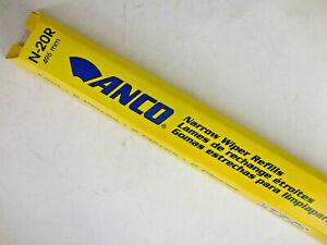 Windshield Wiper Blade Refill-Narrow Series Refills Anco N-20R #7fc