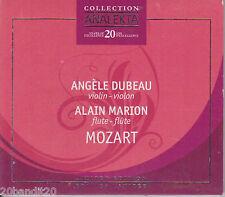 ANGELE DUBEAU ALAIN MARION MOZART  2008 ANALEKTA 774204200022