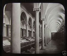 GWW Glass Magic Lantern Slide LIBRARY CONVENT OF S MARCO FLORENCE C1890 ITALY
