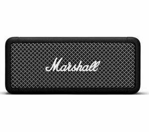 Portable bluetooth speaker black-CurrysMARSHALL Emberton