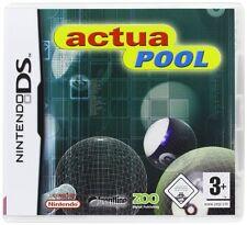 ACTUA POOL  NINTENDO DS