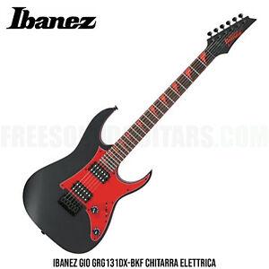 Ibanez Gio GRG131DX-BKF chitarra elettrica con ponte fisso