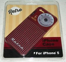Retro Cell Phone iPhone 5 case cover transistor AM radio stocking stuffer Xmas
