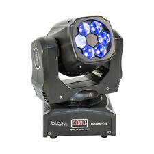 IBIZA ROLLING-EYE Wash Effekt Moving Head 6x12 Watt 4in1 CREE LEDs Washer Flower