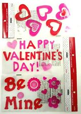 Valentines Day Gel Clings Decoration Home Classroom Office Kids Teens Girls Lot