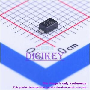 100PCS X DY D16 SOD-123F VR=30V IF=1A VF=700mV@1A Schottky Barrier Diodes