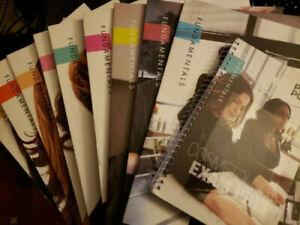 Pivot Point Fundamentals Cosmetology book lot
