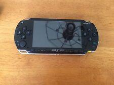 Sony PSP 1000 Value Pack Black Handheld System (PSP-1001K) w/ games