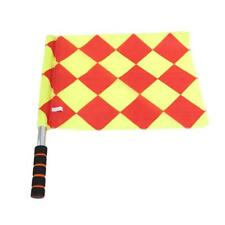 Football Rugby Hockey Training Referee Flags Red&Yellow Linesman Flags Set Q