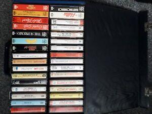 case of old cassette tapes