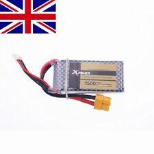 Xpower LiPo Battery 11.1V 1500Mah 3S 40C MAX 60C XT60 Plug For RC Car Airplane H