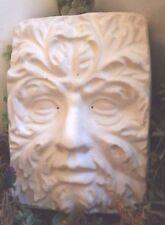 greenman plaque plastic mold concrete plaster mould