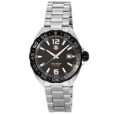 New Tag Heuer Formula 1 Quartz Black Dial Steel Men's Watch WAZ1110.BA0875
